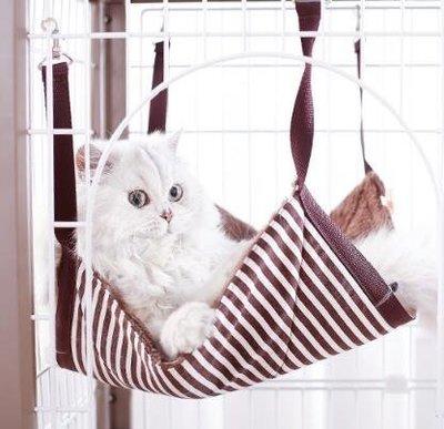 寵物吊床貓吊床掛窩貓籠吊床貓墊子貓床寵物用品貓掛床吊籃貓咪 尚美優品