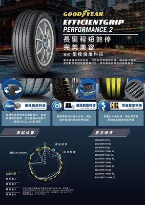 【宏程輪胎】 固特異 EGP2 225/55-17 101W 歐洲製
