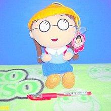 【辛普森娃娃屋】中型櫻桃小丸子好朋友小玉上學版絨毛吸盤吊飾