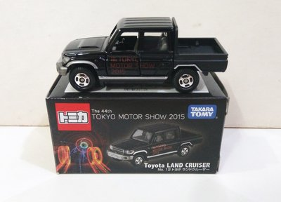 Tomy Tomica 44th Tokyo Motor Show 2015 No. 12 Toyota 豐田 Land Cruiser 會場版