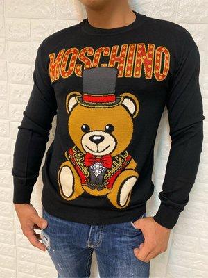 Moschino 男女款 魔術熊 針織上衣 限量款