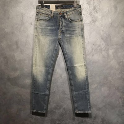 nudie Tilted Tor Authentic Contrast義大利製W30L32