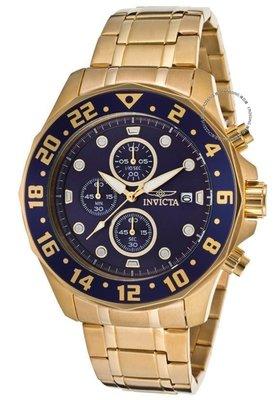 展示品 Invicta 15942 48mm Specialty Quartz Chronograph Stainless Bracelet Men'