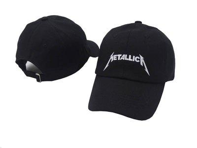 FIND 韓國品牌棒球帽 男女情侶 時尚街頭潮流 Metallica字母刺繡 帽子 太陽帽 鴨舌帽 棒球帽
