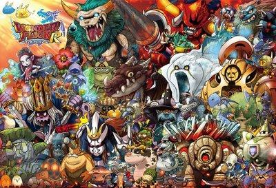 協泰 拼圖-現貨 31-431 Monster Collection 電玩 日本 Wonder Flick 紙牌遊戲 BEVERLY 1000片