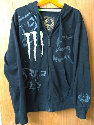鬼爪 Monster  摩托車棉質連帽外套