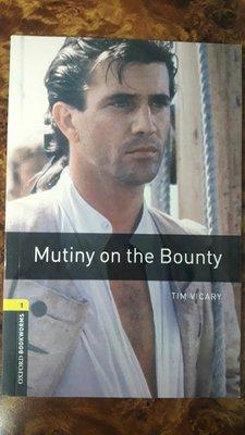 【盆邊書齋】《Mutiny On the Bounty》作者:Vicary, Tim出版社:Oxford University Press 適用對象:高中
