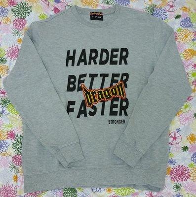 🈹 G DRAGON GD X 8 SECONDS Grey Sweatshirt