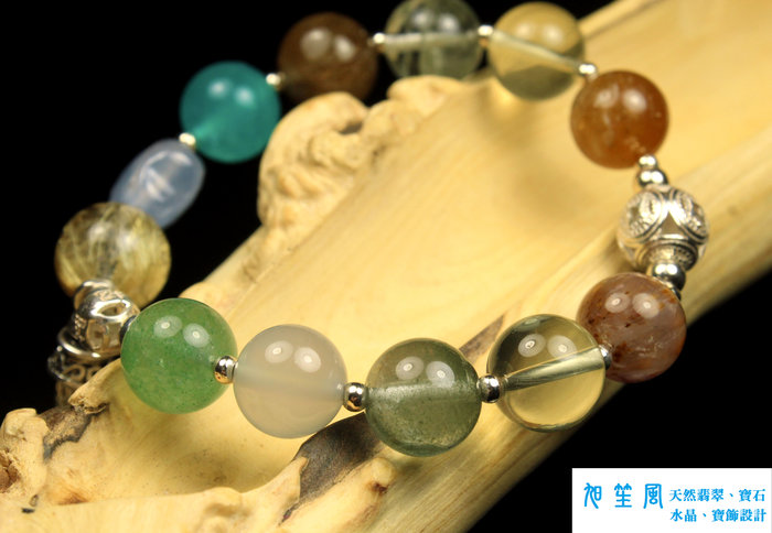 【旭笙風】天然多寶、水晶「創意設計手飾」