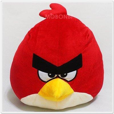 【摩邦比】正版Angry Birds憤怒鳥45cm 綠豬 憤怒鳥圓形抱枕 銳德 恰克 砰伯 聖誕禮物生日禮物情人節禮物