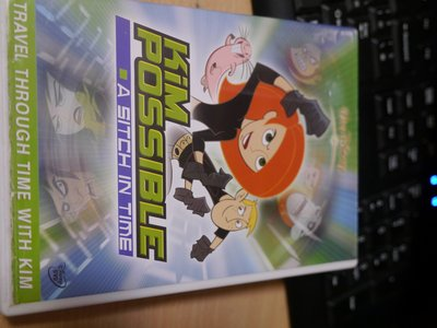 DISNEY KIM POSSIBLE-A SITCH IN TIME/ 二手正版DVD NI