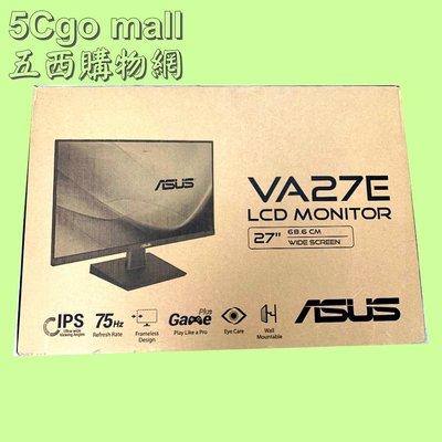 5Cgo【權宇】全新ASUS華碩27吋VA27EHE IPS面板75Hz高清HDMI窄邊框高清HDMI顯示器3年保 含稅