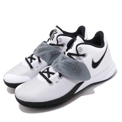 =CodE= NIKE KYRIE FLYTRAP III EP 魔鬼氈籃球鞋(白黑灰)CD0191-103 XDR 男