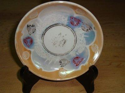 """典藏光復初期日本製作的""""小鳥老磁盤""""~~高貴而有質感"""