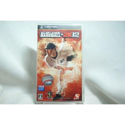 [耀西]二手 純日版 SONY PSP 美國職棒大聯盟 2K12 全英文版 含稅附發票