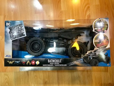 Jada R/C DC JUSTICE LEAGUE BATMAN Batmobile Radio Control 正義聯盟 蝙蝠俠 蝙蝠車 搖控車 玩具