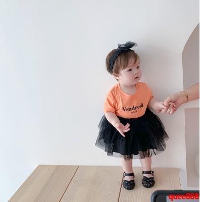霖霖家嬰童裝 女嬰兒半截裙夏 寶寶紗裙兒童蓬蓬裙女童半身百褶裙