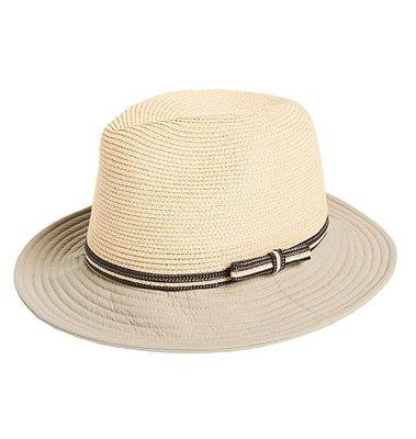 荒野 WILDLAND 防曬時尚編織草帽 另有 遮陽帽 漁夫帽 寬緣帽 編織帽 藤編帽 沙灘帽 登山遮陽帽 W1071