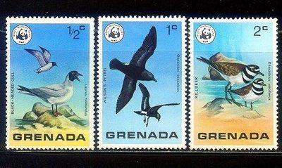 獵郵魔^^ 格瑞那達中期『WWF野生動物 鳥類』
