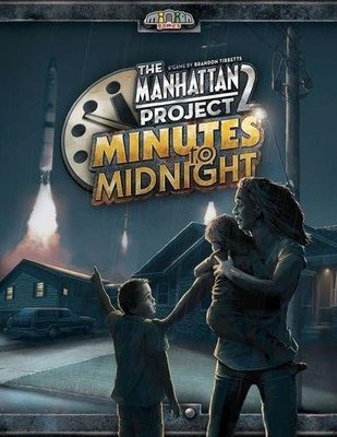 大安殿 The Manhattan Project 2 Minutes to Midnight 曼哈頓計畫2 正版桌遊