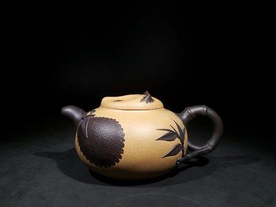 《藏壺軒》~呂堯臣~全手工製熊貓壺~(1元起標、不作價、不圍標標、多少賣多少)