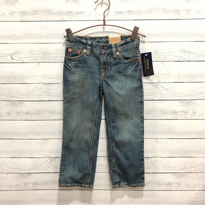 Maple麋鹿小舖 美國購買 童裝品牌POLO RALPH LAUREN 男童牛仔長褲 * ( 現貨3T )