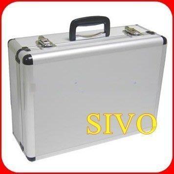 ☆SIVO電子商城☆ 台灣製 鋁工具箱 422.365 大對號鎖鋁箱對號鋁箱附二隔板 450x325x170mm