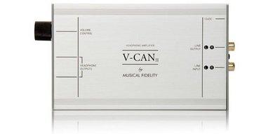 台中【天笙音響】數位流英國Musical Fidelity V-CAN II 微型耳機擴大器先進的耳機擴大器