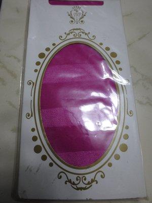全新日韓精品桃紅色條紋半透明褲襪