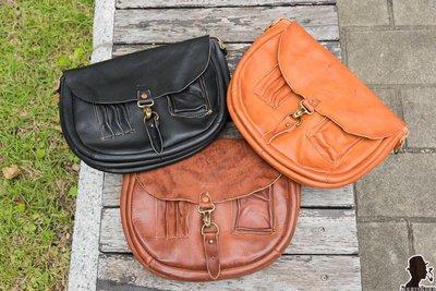 牛仔偵探  Sturdy Luggage Supply 櫪木多脂皮革 側背包 三色駕到