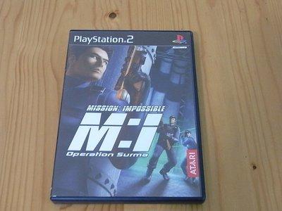 【小蕙館】PS2~ 不可能的任務2 (純日版)