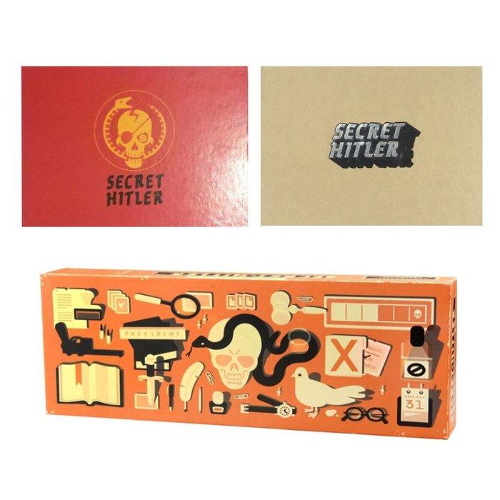桌遊 益智遊戲 卡片遊戲 親子遊戲 指尖桌遊Secret hitler揭秘希特勒桌游卡牌亞馬遜熱銷廠家直銷現貨供應