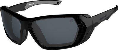 (I LOVE 樂多) wensotti 墨鏡 風鏡 太陽眼鏡 防風 抗UV 特殊偏光鏡片 (WI6826-M04消黑)