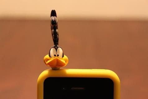(I LOVE樂多) 經典卡通Road Runner立體嗶嗶鳥3.5MM造型耳機塞 防塵塞另有mooneyes RF