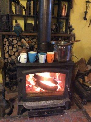 現代簡約單門壁爐(火爐.暖爐)全台最好用最便宜的大壁爐-快樂女木匠~