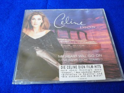白色小館222~CD~Celine Dion /MY HEART WILL GO ON