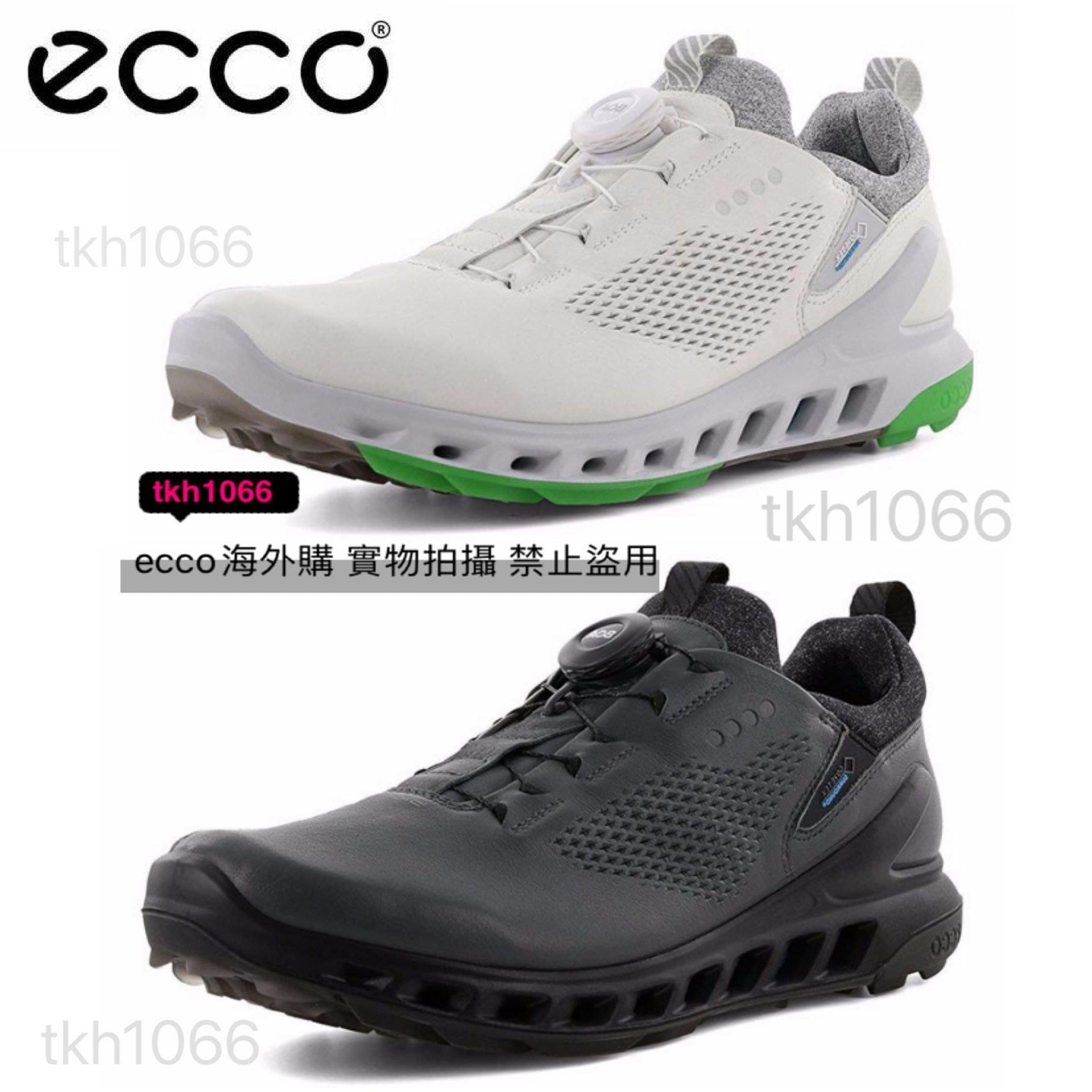 ECCO愛步高爾夫球鞋男士固定釘鞋golf時尚運動男子高爾夫健步透氧專業系列20款102114 39-44碼