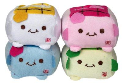 【卡漫迷】全面出清 豆腐君 絨毛 手機座 ㊣版 玩偶 tofu  豆腐人 顏色隨機