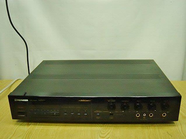 【小劉2手家電】27年老古董 PIONEER 卡拉OK混音機,有升降KEY,MA-9型,壞機可修/抵!
