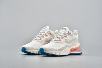 Nike Air Max 270 React 白粉 氣墊 休閒運動慢跑鞋 女鞋AO4971-100