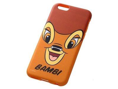 尼德斯Nydus~* 日本 迪士尼 Disney 小鹿斑比  軟殼 手機殼 大臉款 4.7吋 iPhone6