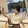 小香風 短袖T恤 時尚穿搭 韓版 寬松可愛短袖襯衫設計感女小眾輕熟上衣學生洋氣白色襯衣