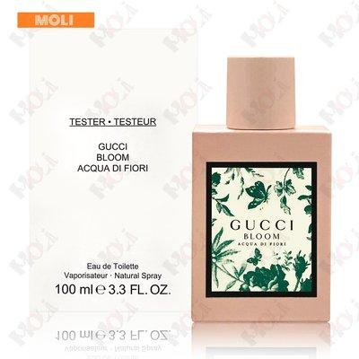 ◇MOLI 莫麗◇Gucci Bloom Acqua Di Fiori 繁花之水女性淡香水100ml TESTER※