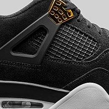 【E.D.C】Nike Air Jordan 4 Royalty AJ4  黑金 女段 408452-032