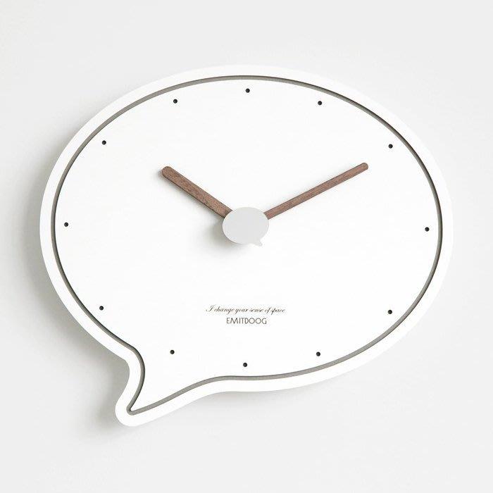 ART。DECO  創意造型掛鐘美式漫畫風格符號掛鐘居家空間設計掛鐘時尚個性靜音掛鐘北歐民宿餐廳實品屋裝飾掛鐘(5色可選