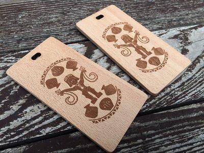 竹藝坊-山毛櫸客製行李吊牌,木吊牌(可雷射雕刻)