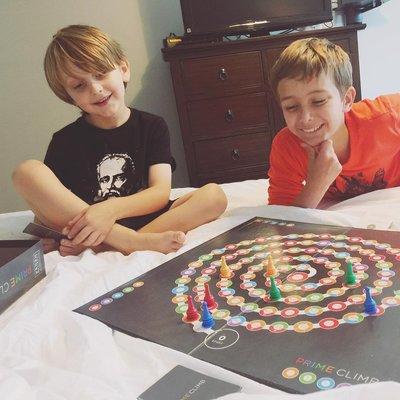桌遊玩具MathforLove正版Prime Climb美國數學跳棋策略桌游乘除法兒童教具 AMDP