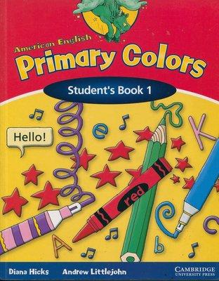 幼兒美語 AMERICAN ENGLISH Primary Colors 1 (2本書 + 2片CD)