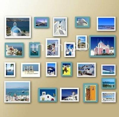 INPHIC-相框牆照片牆相框組合畫框...