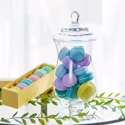 **蕾絲公主**新品推出part3**歐式高腳玻璃糖果罐(H款)~婚禮佈置、夢幻candy bar、主題週歲生日派對